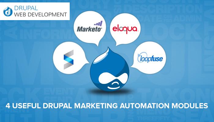 Drupal Marketing Automation Modules